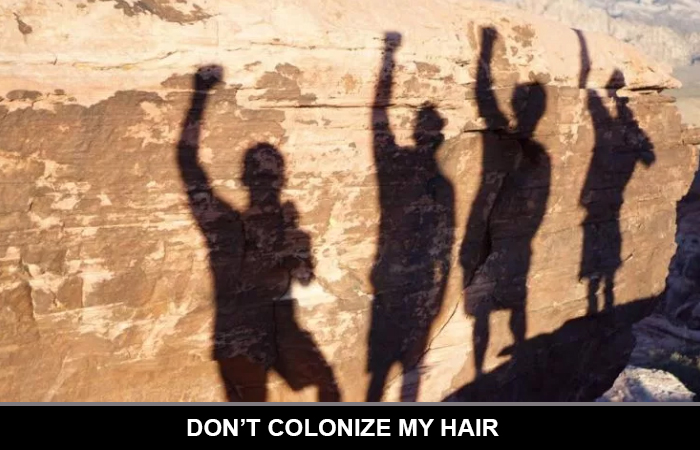 Don't Colonize My Hair